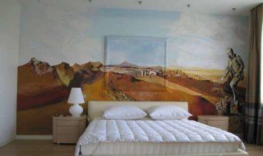 Декорирование интерьера,роспись стен (3)