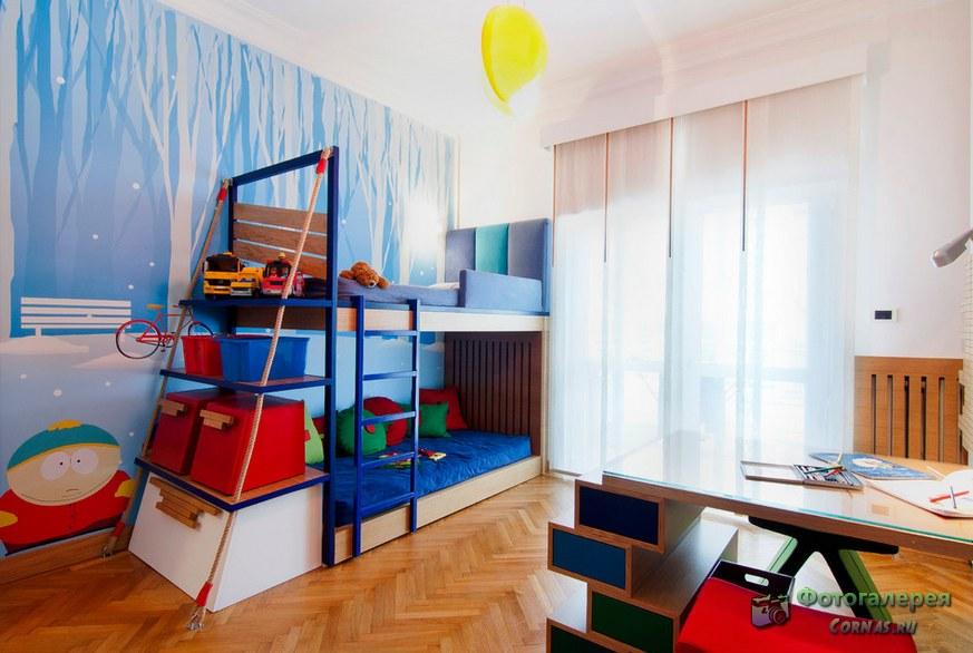 Дизайн детской 12 кв.м