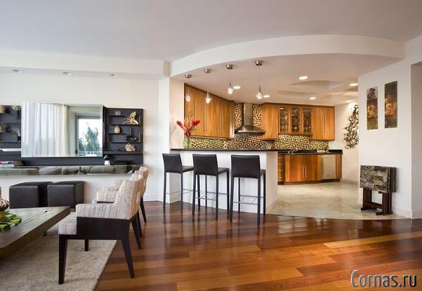 Дизайн кухни гостиной. Советы и фото дизайн проектов.