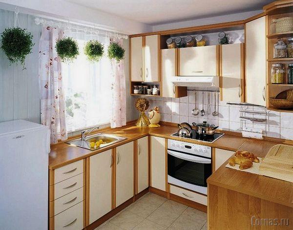 Дизайн кухни 6 кв.м фото. Лучшие варианты