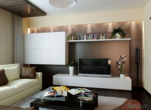 Дизайн гостиной 15 кв.м.