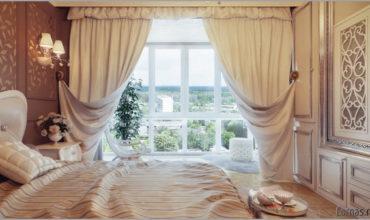 Дизайн штор для спальни. Как выбрать самые красивые?
