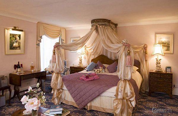 Кровать с балдахином - уют и спокойный сон в спальне!