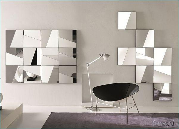 Зеркальная плитка: варианты использования в интерьере.