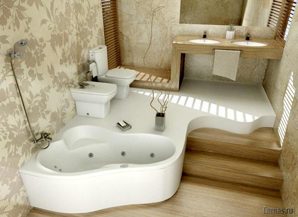 Обои для ванной комнаты: как выбрать подходящий вариант?