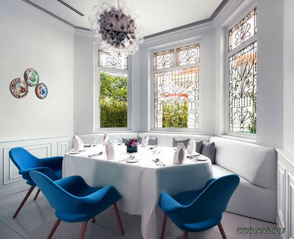 Дизайн гостиной с эркером: красивые варианты оформления интерьера