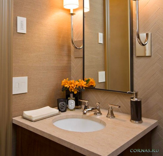 Аксессуары для ванной комнаты: фото оригинальных и стильных вещей
