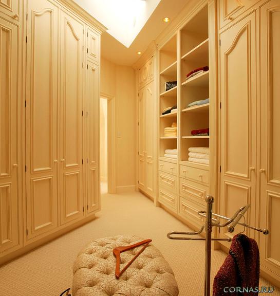 Гардеробные комнаты фото. Эффективное решение для хранения вещей