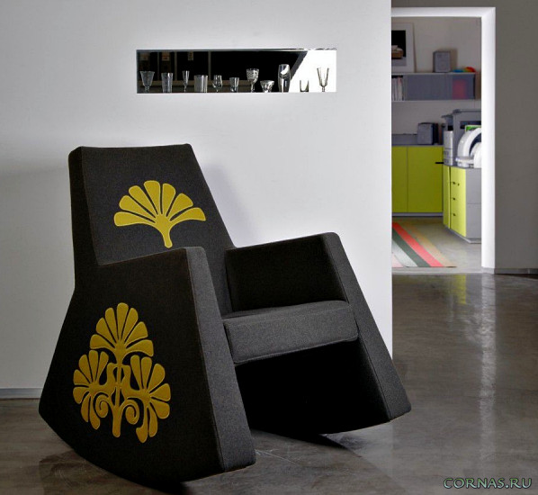 Кресло-качалка: фото в интерьере и не только!
