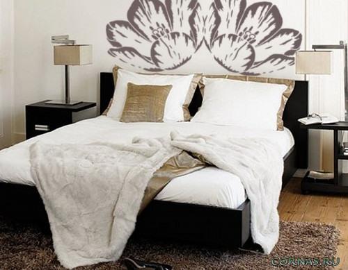 Трафарет для декора стен, потолка и мебели: фото идеи