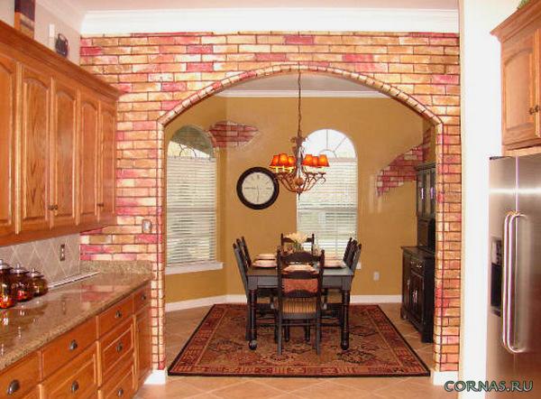 Идеи уютного дома: фото арок на кухню