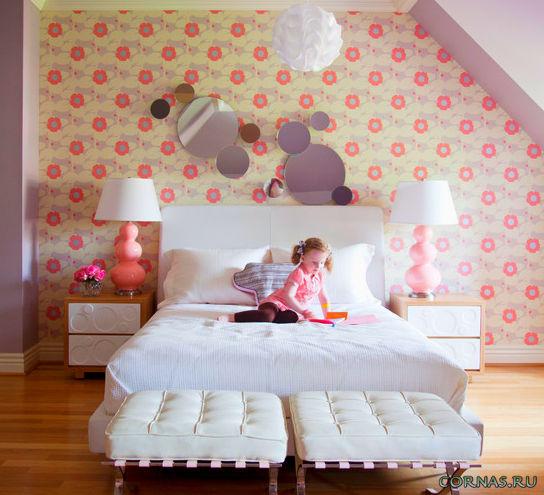 Оформление детской комнаты для девочки