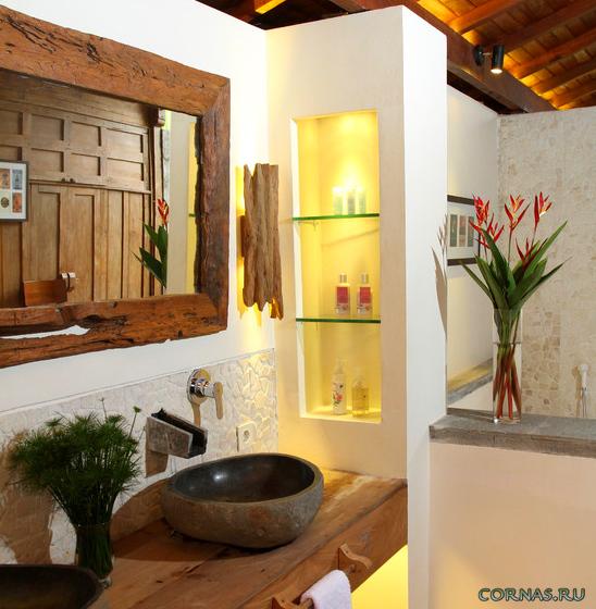 Зеркало в ванную, фото современных вариантов