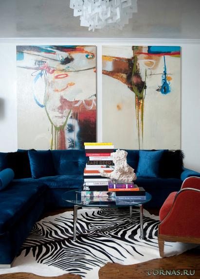 Модульные картины в интерьере - современный способ оформления.