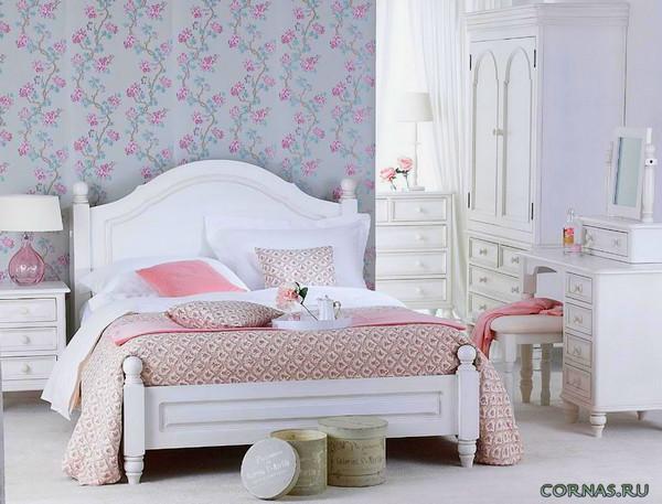 Спальня в стиле прованс: фото и описание