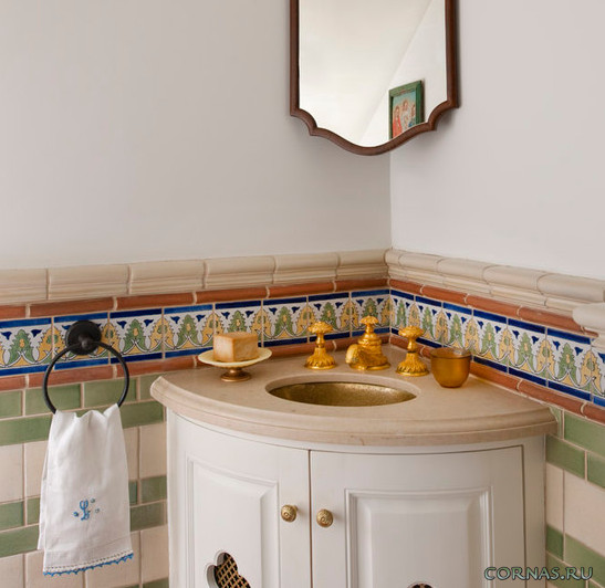 Раковина для ванной - какую выбрать? Красивые фото.