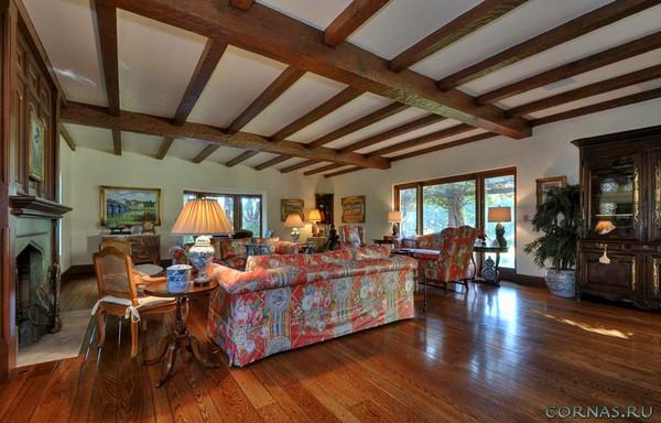 Балки на потолок - как декоративные элементы интерьера