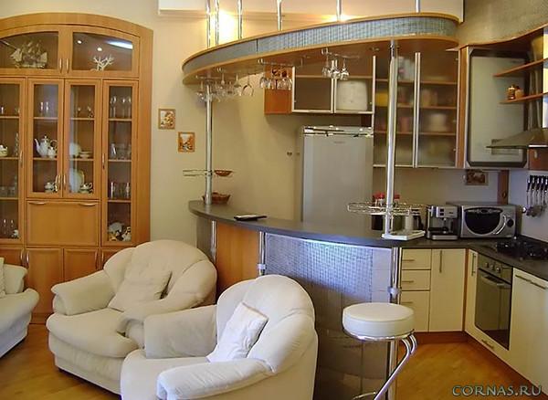 Кухня с барной стойкой: фото, виды и особенности дизайна