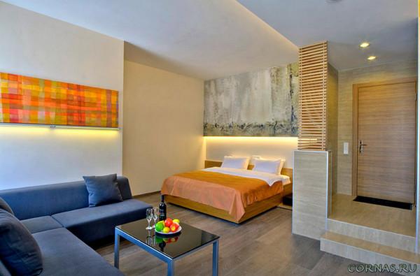 Интерьер однокомнатной квартиры - фото современных проектов