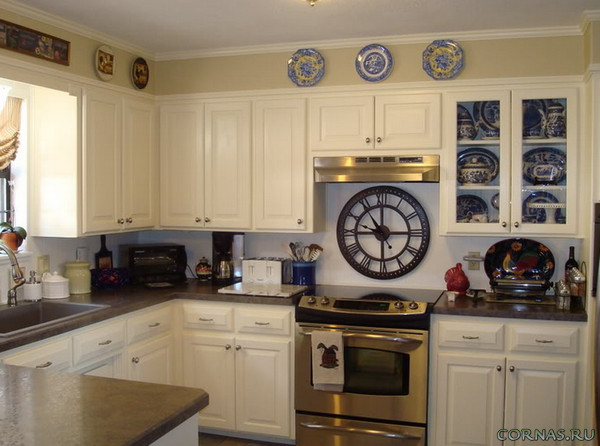 Часы на кухню - точное время, вкусный обед!