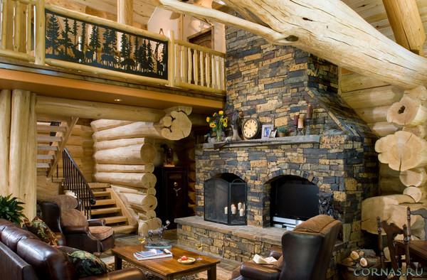 Камень в интерьере - позитивный материал для квартиры и дома