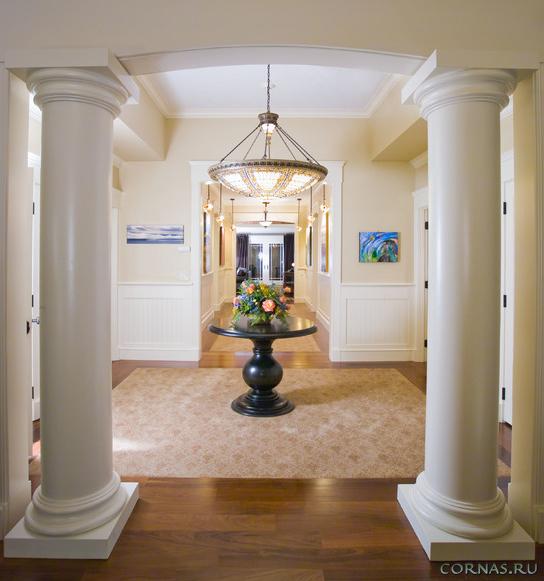 Колонны в интерьере - элегантное величие в дизайне квартиры и дома