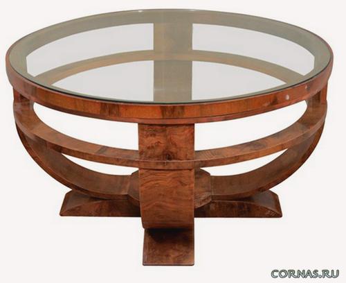 Стеклянные столы для кухни - современно и стильно. Фото
