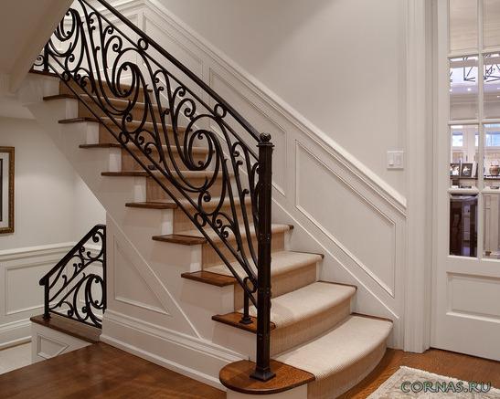 Кованые лестницы - фото шедевров кузнечного искусства