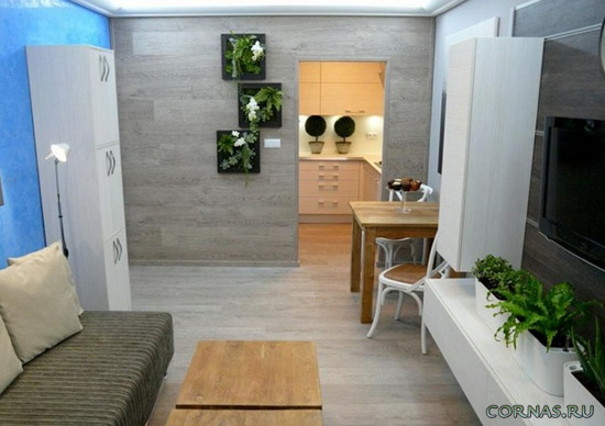 Отделка стен ламинатом - современные идеи декора интерьера.