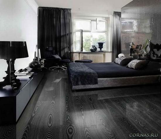 Серый ламинат в интерьере - модная идея сегодняшнего дня.