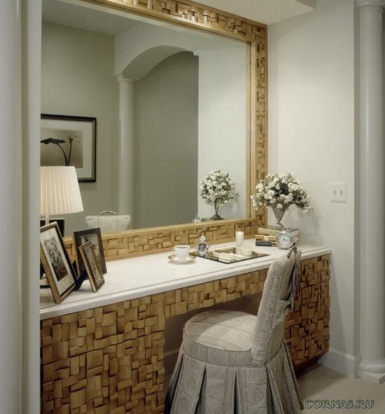Туалетный столик - как выбрать этот женский элемент в спальню?