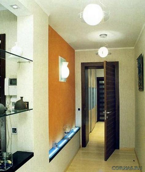 Дизайн узкой прихожей - оформление и способы совмещения с коридором