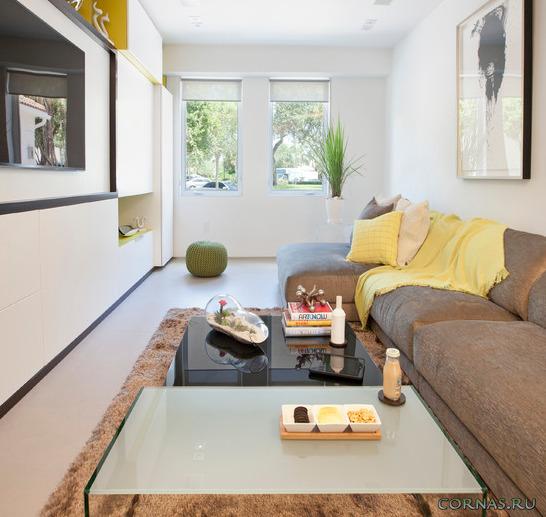 Интерьер небольшой гостиной - как правильно обустроить?