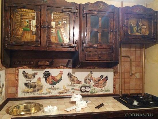 Фото кухни в квартире с современным дизайном