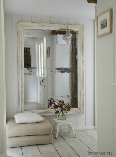 Красивое зеркало в коридор - фото.