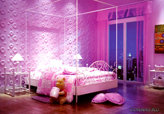 Спальня в сиреневых тонах - фото и особенности применения цвета в интерьере