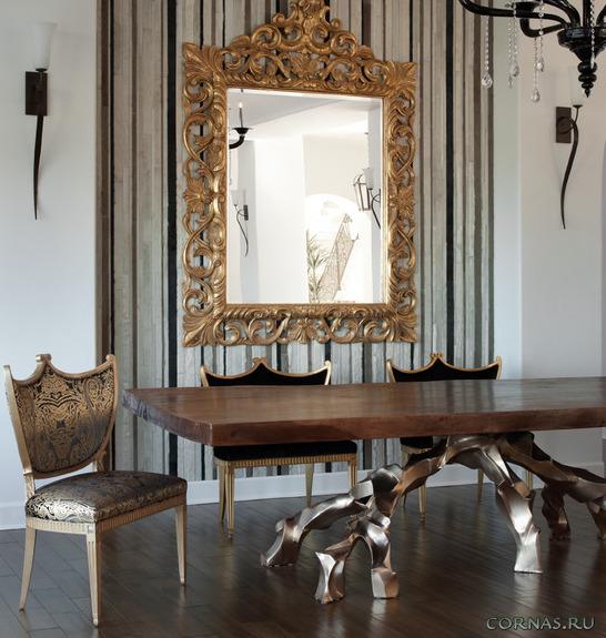 Современные идеи использования зеркала в интерьере. Фото