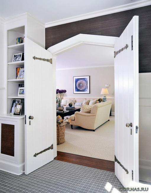 Актуальны ли белые двери в интерьере сегодня?!