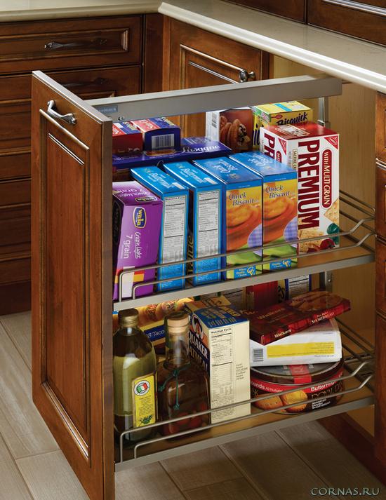 Организуем пространство: карго - бутылочница для кухни