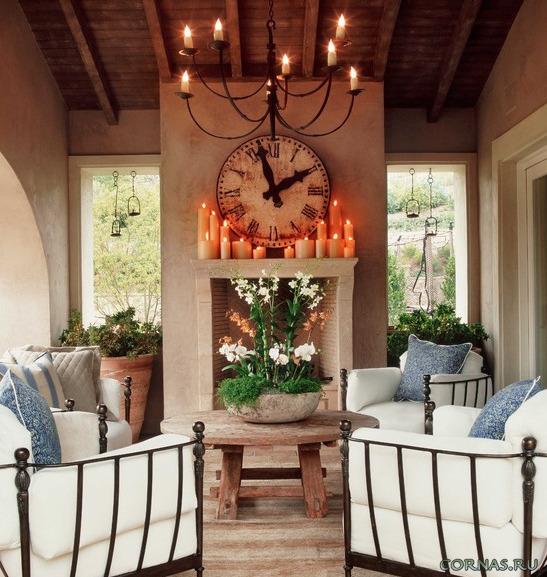 Свечи в интерьере - отличная идея для оформления