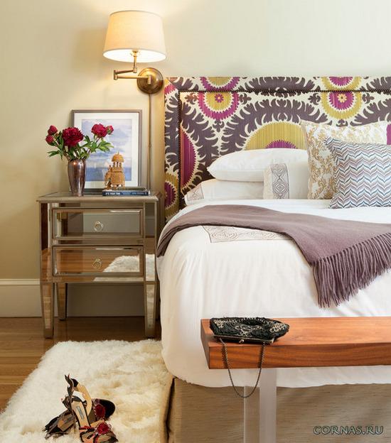 Красивая и уютная спальня - залог хорошего отдыха