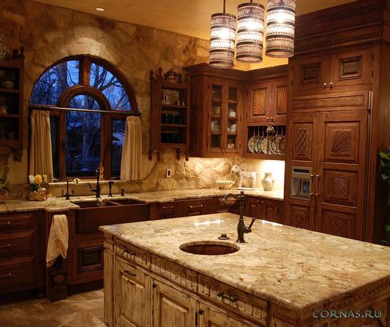 Какая она - кухня в деревенском стиле?