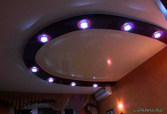 Натяжные потолки в спальне - тонкости дизайна