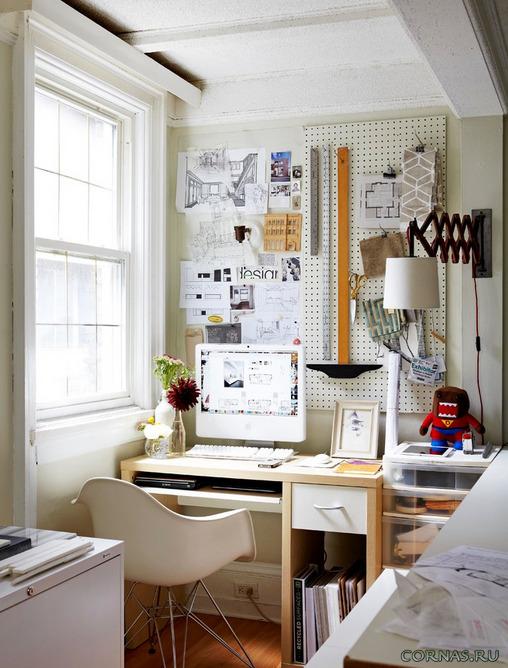 Где организовать рабочее место в квартире?