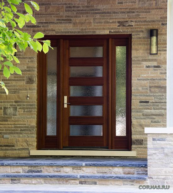 Стильные и надежные входные двери - фото дизайна