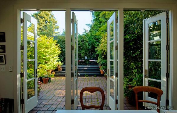 Французские окна: фото в интерьере, дизайн
