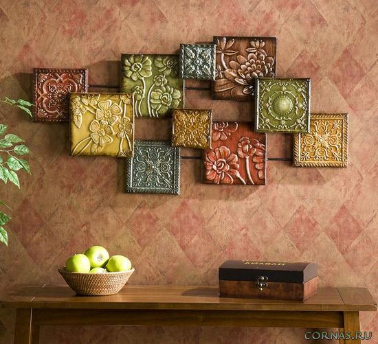 Декорирование стен своими руками - интересные идеи