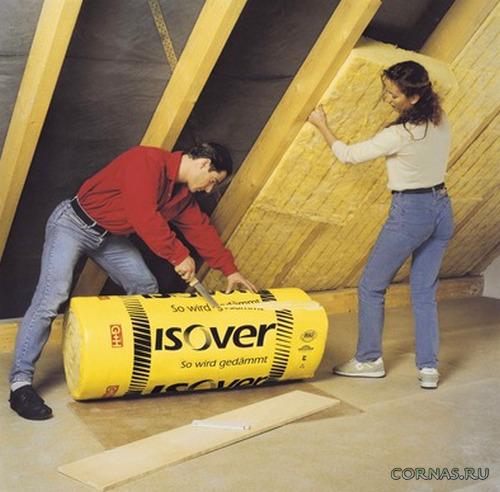 Современный утеплитель Изовер(Izover) - фото,технические характеристики,видео