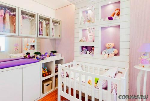 Каждому возрасту свое - дизайн детской комнаты: фото, описание.