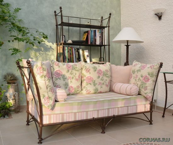 Красивая мебель в стиле прованс фото